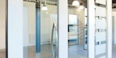 glazen deuren: concept-door